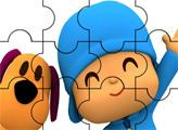 Игра Пазл: Покойо и любимый щенок