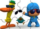 Игра Пазл: Покойо и Пато - стиляги