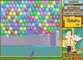 Игра Финес и Ферб: Пузыри