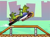 Игра Свомпи: Гонка на водных мотоциклах