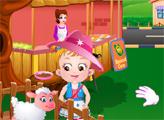 Игра Малышка Хейзел: Праздник Урожая