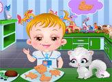 Игра Малышка Хейзел - Зоолог