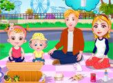 Игра Малышка Хейзел - Семейный пикник