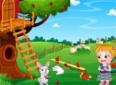 Игра Малышка Хейзел - Домик на дереве