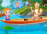 Игра Малышка Хейзел - День Бабушек И Дедушек