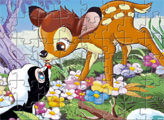 Игра Бэмби и цветочек