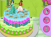 Игра Алладин и Жасмин: торт