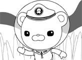 Игра Раскраска: Капитан Октонавтов