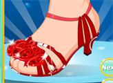 Игра Ариэль: укрась туфельку