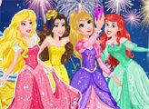 Игра Принцессы Диснея: наряди всех