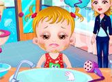 Игра Малышка Хейзел: Уход за глазами
