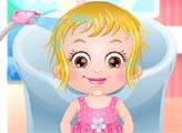 Игра Малышка Хейзел: Моем голову