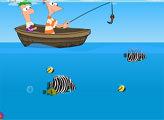 Игра Финес и Ферб: Рыбалка