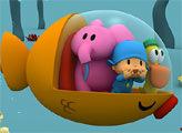 Игра Пазл: Покойо и друзья под водой