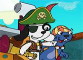 Игра Пазл: Пират Доки и Фицо