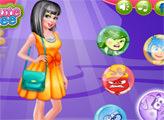 Игра Наряды Барби в стиле эмоций