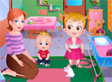 Игра Малышка Хейзел в детском саду