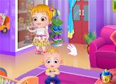 Игра Малышка Хейзел помогает родителям