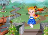 Игра Малышка Хейзел в стране чудес