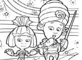 Игра Фиксики - Набор раскрасок