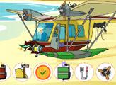 Игра Ремонт вертолета Ото