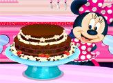 Игра Большой торт Минни