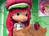Игра Пазл: Шарлотта Земляничка в школе