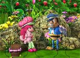 Игра Пазл: Шарлотта Земляничка и Мистер Пчела