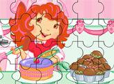 Игра Пазл: Шарлотта Земляничка на кухне