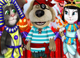 Игра Говорящие Том, Анджела и Бэн на Хэллоуин