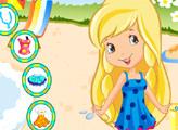 Игра Шарлотта Земляничка: Лимона на пляже