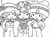 Игра Раскраска: Шарлотта Земляничка и друзья