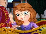 Игра Пазл - Принцесса София приветствует народ