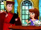 Игра Пазл - Принцесса София и фея Флора