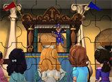 Игра Пазл - София с друзьями на представлении