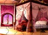 Игра Пазл - спальня Принцессы Софии