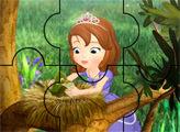 Игра Пазл - София помогает птенцам