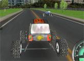 Игра Городские гонки Монстер каров