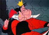 Игра Пазл - улыбка Червонной Королевы