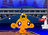Игра Счастливая обезьянка: Индюки