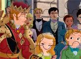 Игра Пазл - Король Роланд II, Эмбер и Джеймс