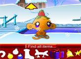 Игра Счастливая обезьянка: Рождество