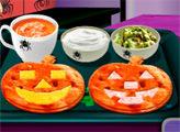 Игра Кухня Сары: Кейсадиас на Хэллоуин