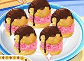 Игра Кухня Сары: Эклеры с мороженым