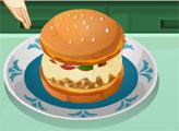 Игра Кухня Сары: Пицца-Бургер