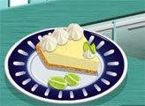 Игра Кухня Сары: Пирог с лаймом