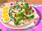 Игра Кухня Сары: Салат из зеленой фасоли