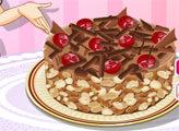 Игра Кухня Сары: Шоколадный торт