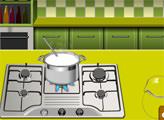 Игра Кухня Сары: Домашнее клубничное мороженое