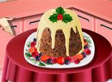 Игра Кухня Сары: Рождественский Пудинг